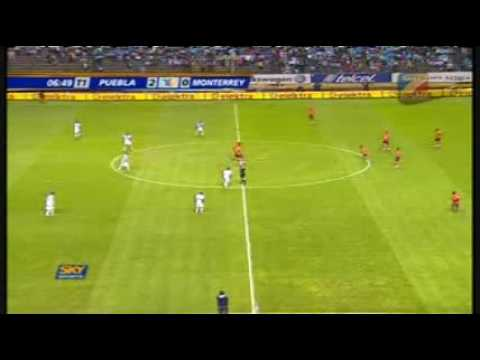 Puebla vs Monterrey 3-1 4tos de Final, Ida Clausura 2009