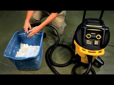 DeWalt DWV902 vacuum Absaugssytem Nass- und Trockensauger
