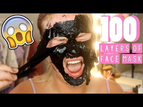 Face mask ng mga mahahalagang almond oil