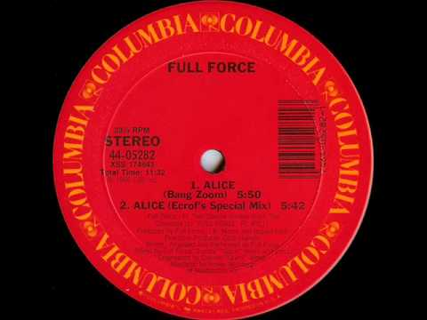 Full Force - Alice (Ecrof's Special Mix)