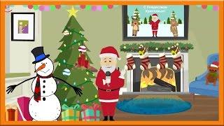 Поздравление с Рождеством анимация