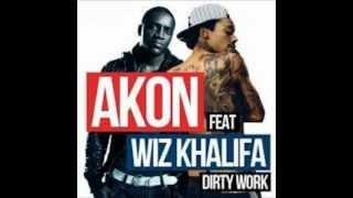 Akon Ft. Wiz Khalifa - Dirty Work New Song 2013