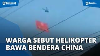 Video Viral Tiktokers Sebut Helikopter Bawa Bendera China, TNI AU Ungkap Fakta Sebenarnya