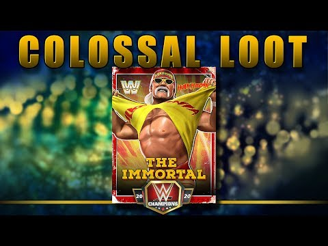 Colossal Loot 40 Pull- WWE Champions