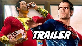 Shazam Trailer - Comic Con 2018 Justice League Easter Eggs Breakdown