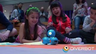 Diverbot, programación y robótica educativa - Taller Dash