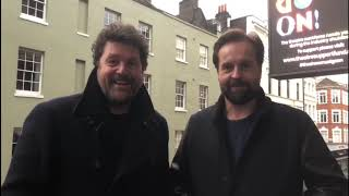 Michael Ball & Alfie Boe celebrate Together At Christmas debuting at Number 1 | Official Charts