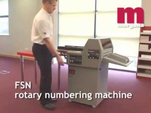 Numeradora de succión Morgana FSN II