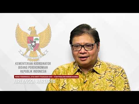 Video: Penjelasan Menko Perekonomian Airlangga Hartarto tentang Pemulihan Ekonomi Nasional
