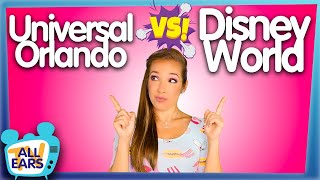 Why Would You Go To Universal When You Can Go To Disney World?!