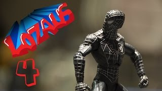 SPIDERMAN Stop Motion Action Video Part 4