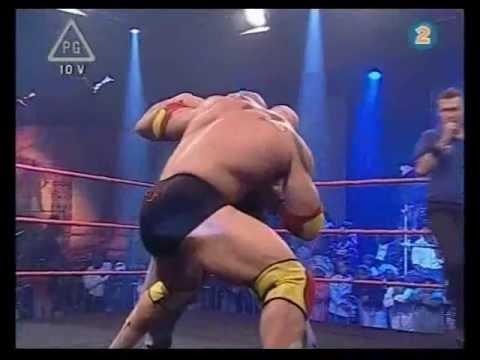 Fury VS Skull - Big-Man Tussle - WWP Thunderstrike (2008)