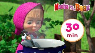 Masha and the Bear 🤣🤸 YES, IT'S RECESS! 🤸🤣 Best 30 min ⏰ cartoon collection 🎬 Jam Day День варенья
