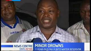 Seven year-old boy drown in a Mombasa water reservoir