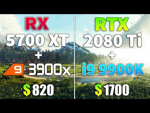 A家 N家 CPU與GPU搭配比較