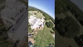 #FPV Texas Castle! Drone Flight! #Shorts