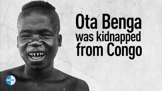 THE AFRICAN MAN WHO WAS CAGED AT THE BRONX ZOO :OTA BENGA