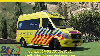 Cost of King Road Ambulance Service in Dhanbad and Ramgarh