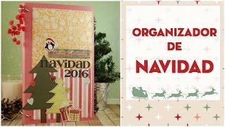 DIY Organizador de Navidad/Diario de Navidad. Décimo de Navidad EP. 1