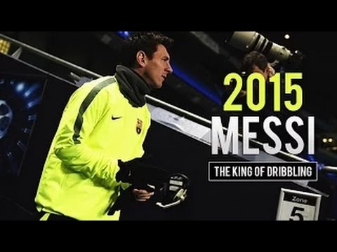 Lionel Messi - The King of Dribbling - 2015 | HD