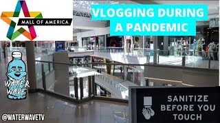 THE Mall Of America IS EMPTY VLOG