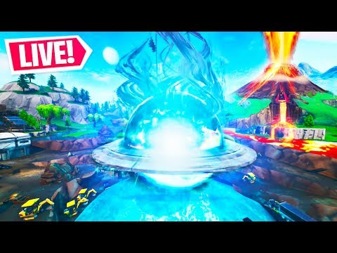 Fortnite Live Loot Lake Event Activated Volcano Event Countdown