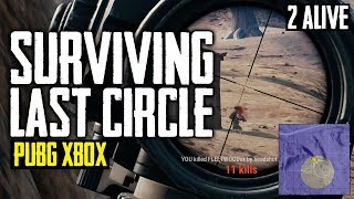 PUBG Xbox - Surviving Final Circle or Top 10 (Playerunknown