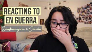 Sebastian Yatra & Camilo En Guerra Reaction (Official Video)