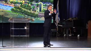 """Jentezen Franklin ministering on """"God pours His oil into clean vessels!"""""""