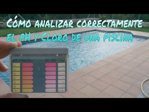 CÓMO ANALIZAR CORRECTAMENTE EL pH Y CLORO LIBRE DE TU PISCINA