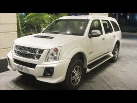 Isuzu MU-7 SUV In India  | Take A Look !