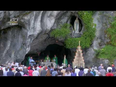 Messe à Lourdes du 28 juin 2020