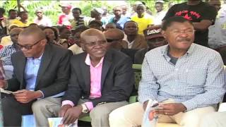 Cord downplays Jubilee thanksgiving rally - VIDEO