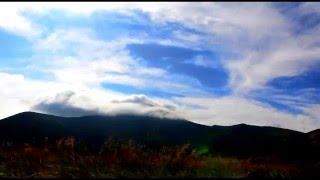 ПОТРЯСАЮЩЕ! Time Lapse облаков у горы Говерла c высоты 1500м - (утро 20.08.2015)