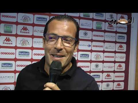 محمد علي معالج مدرب الاولمبي الباجي يتحدث على حظوظ فريقه في مقابلة الباراج