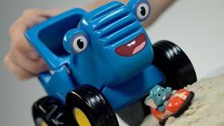ГОНКИ | Видео игра Развивайка | СИНИЙ ТРАКТОР | друзья животные машинки и дети