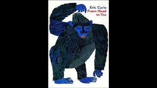 Lets Sing With Eric Carles Book~ : From Head To Toe Song (new Version 2020-0124)