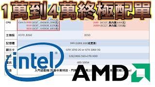 【Huan】1萬到4萬元以上的電腦配單 | 如何選擇適合自己的電腦零件