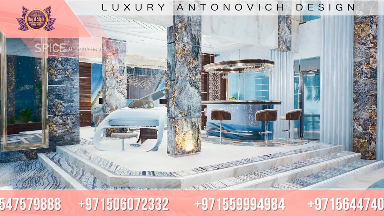 Top Luxury Interior in Dubai by Luxury Antonovich Design!
