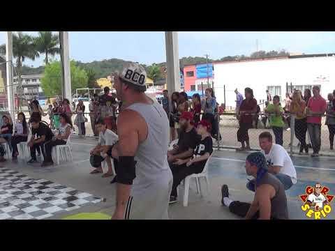 Batalha de Juquitiba de Dança de Rua 2018 na Praça do Pac