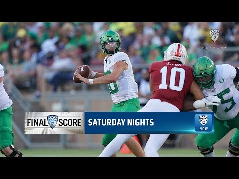 Highlights: No. 16 Oregon football takes down Stanford on Justin Herbert's 3 TDs