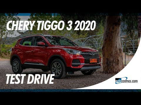 Test drive Chery Tiggo 3: la evolución final