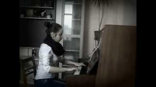 """самая красивая мелодия""""SONG FROM A SECRET GARDEN"""" на пианино"""