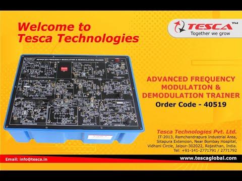 Frequency Modulation & Demodulation Trainer