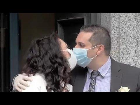 Ιταλία: Γάμος εν μέσω κορωνοϊού