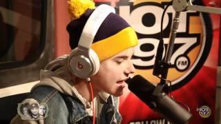 Justin Bieber Exclusive Rap at HOT 97