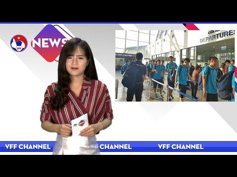 VFF NEWS SỐ 51 | HLV trưởng Hoàng Anh Tuấn chốt danh sách U19 tham dự giải U19 Châu Á
