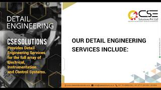 Detail Engineering – CSE Solutions
