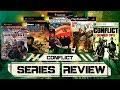 Conflict Series Review desert Storm 1 amp 2 Vietnam Glo