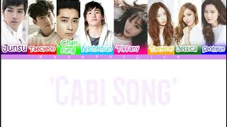 2pm & SNSD 'Cabi Song' Color Coded Lyrics [Han|Rom|Eng]